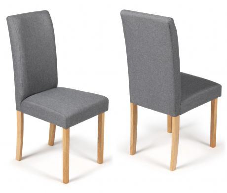 Torino Grey Fabric Dining Chairs  1/2 price Sale Now On Your Price Furniture